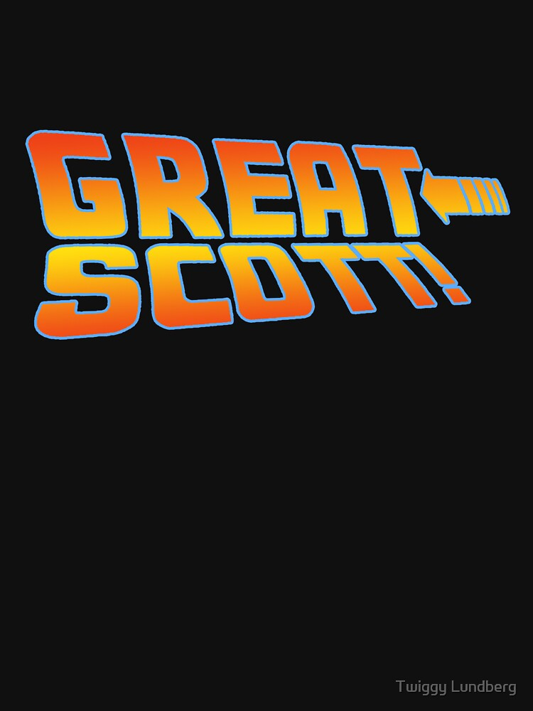 Great Scott! (Back To The Future) by JayBakkerArt