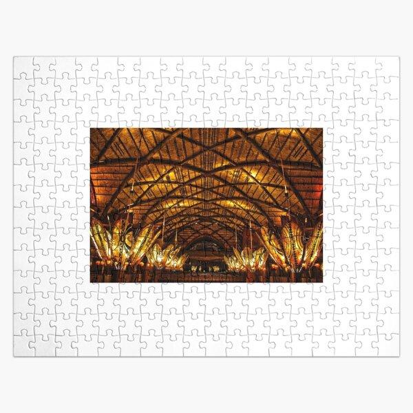 Animal Kingdom Lodge High Dynamic Range Jigsaw Puzzle