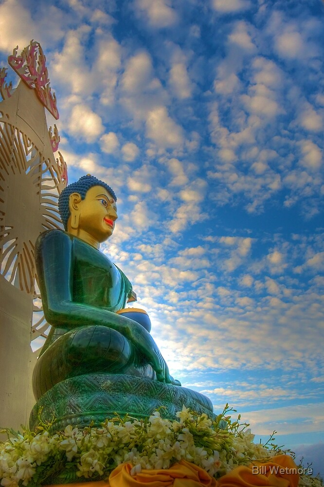 Jade Buddha for Universal Peace by Bill Wetmore