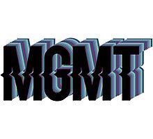 MGMT Original Logo Photographic Print