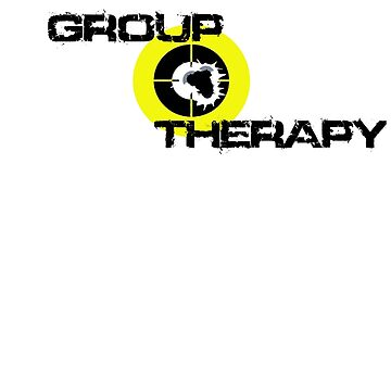 Group Therapy - black text  by cstronner