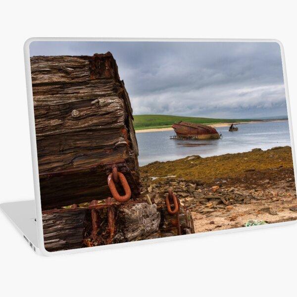 Scapa Flow Churchill Barriers Orkney Isles Scotland Laptop Skin