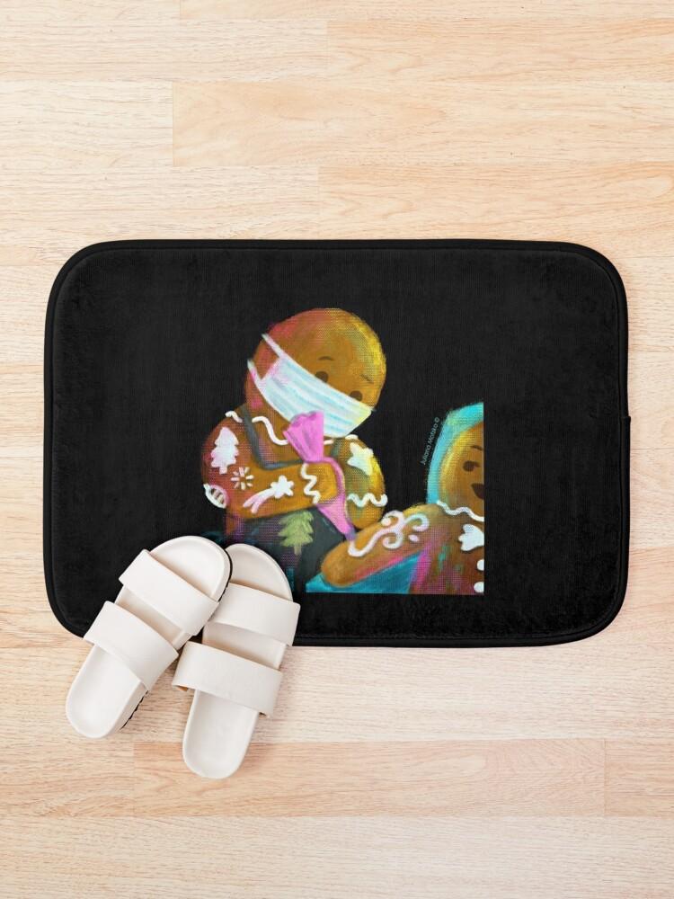 Alternate view of Gingerbread Tattoer Bath Mat