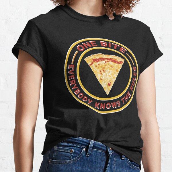pizza de un bocado Camiseta clásica