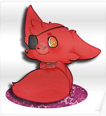 Chibi Foxy Poster