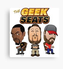 The Geeks Seats Canvas Print