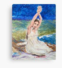 Riverbed Dancer Canvas Print