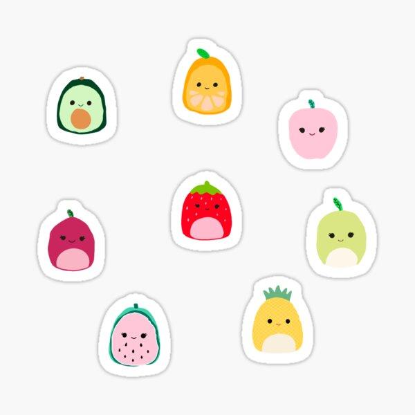 squishmallow fruit sticker pack  Sticker