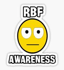 RBF survivor (white text) Sticker