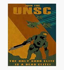 Join the UNSC Photographic Print