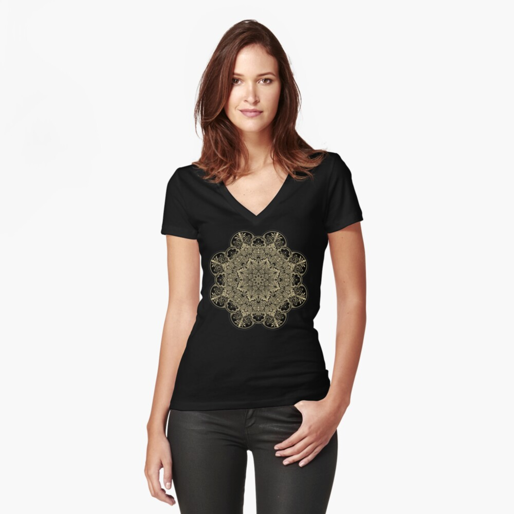 Winya No. 78 Fitted V-Neck T-Shirt