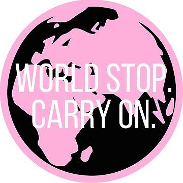 World Stop. de alexandrapentel