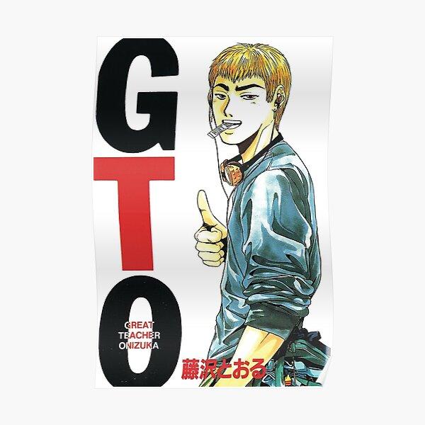 Onizuka de Great Teacher Onizuka Poster