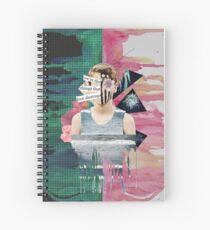 Cuaderno de espiral somos las cosas que el amor destruye
