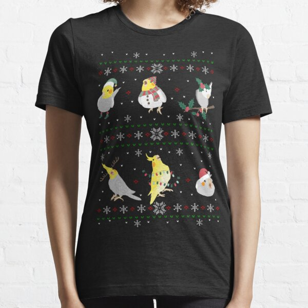 cockatiel ugly christmas Essential T-Shirt