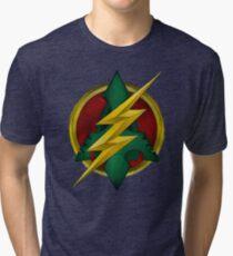 Flash-Arrow  Tri-blend T-Shirt