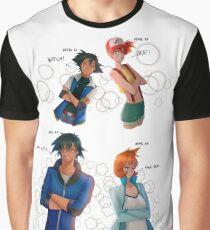 Pokeshipping Graphic T-Shirt