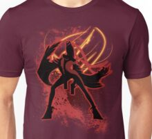 Super Smash Bros. Red Bayonetta (Original) Silhouette Unisex T-Shirt