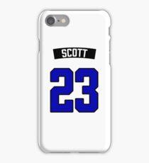 Nathan Scott 23 Jersey iPhone Case/Skin