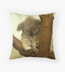 Sooo soft and cuddly  Throw Pillow