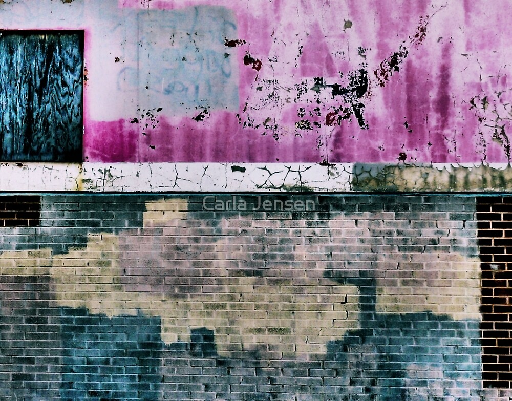 """""""All In All You're Just Another Brick In The Wall"""" by Carla Jensen"""