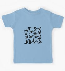 Doves and pigeons  Kids Tee