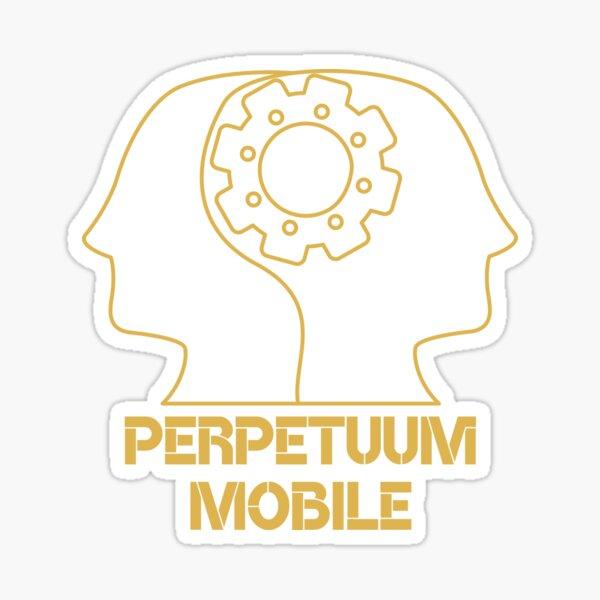 Perpetuum Moblie Pegatina
