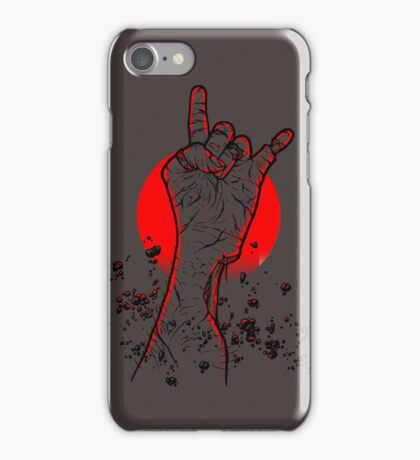 Dawn of the Death Metal iPhone Case/Skin
