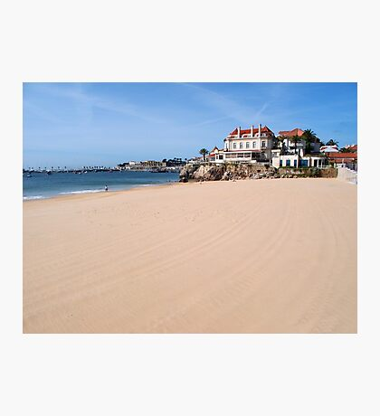 White Sands of Cascais Photographic Print