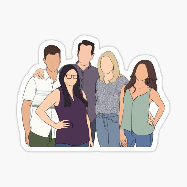 Modern Family  Sticker