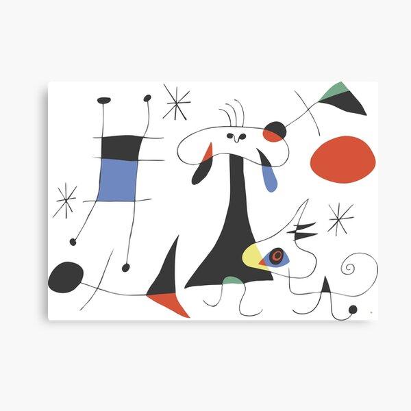 Joan Miró The Sun (El Sol) 1949 - La peinture la plus attrayante de Miro pour tout le monde Impression sur toile
