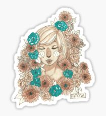 Don't you just love watching sunflowers? Sticker