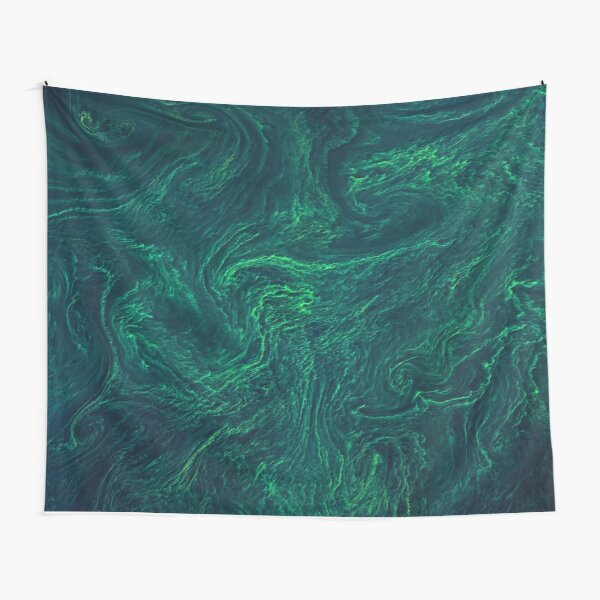 Algal bloom from space Tapestry
