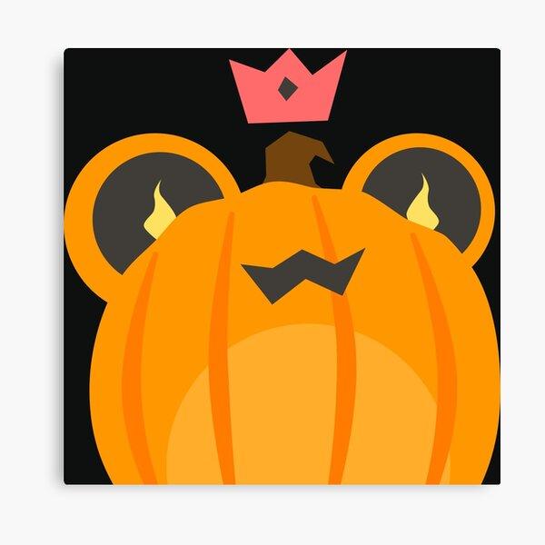 B-Froggio Pumpkin Canvas Print