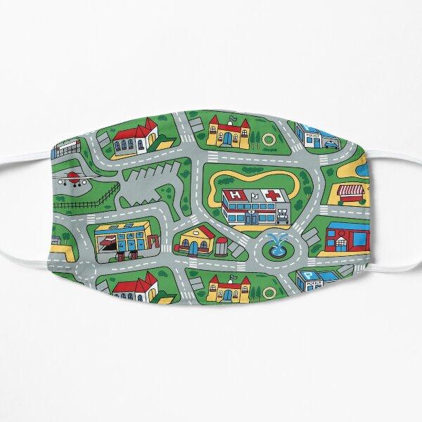 Car City Carpet Road Rug 90s Nostalgic Toy Flat Mask