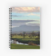 Lune Valley - Early One Morning Spiral Notebook