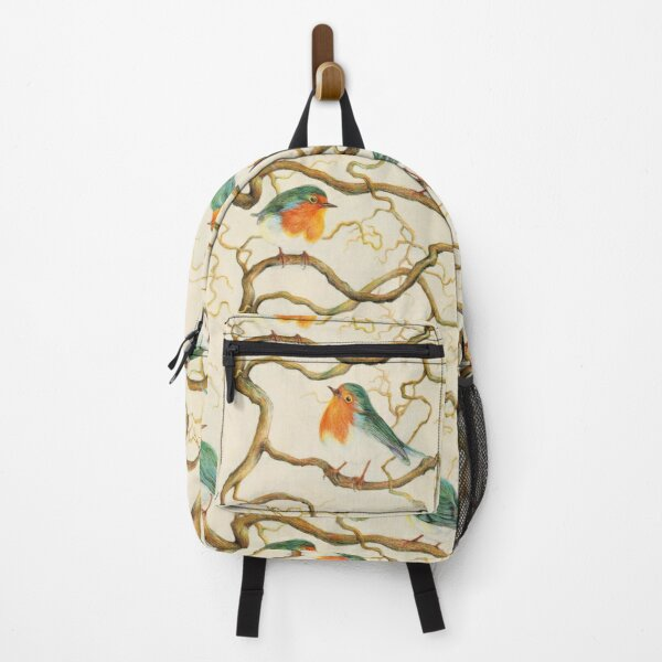 Robin In The Corkscrew Backpack