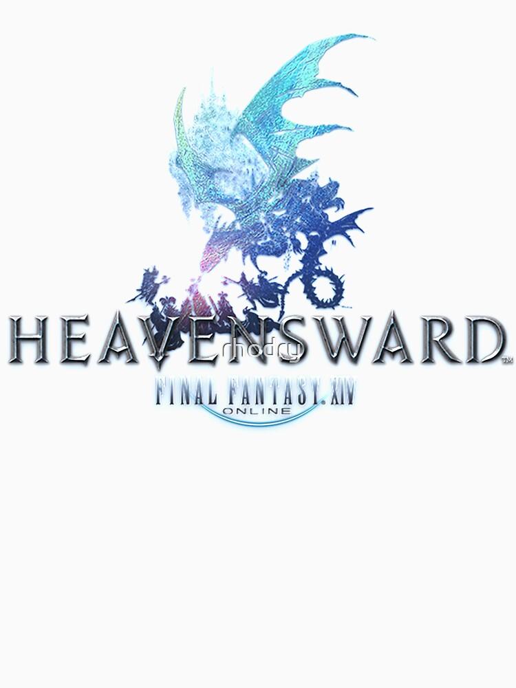 Final Fantasy XIV Heavensward Logo   Unisex T-Shirt