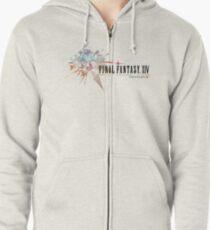 Final Fantasy XIV Logo Zipped Hoodie