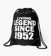 LIVING LEGEND SINCE 1952 Drawstring Bag