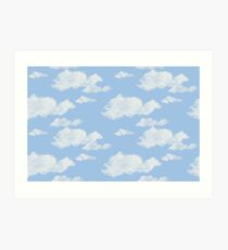 Blue Skies II Art Print
