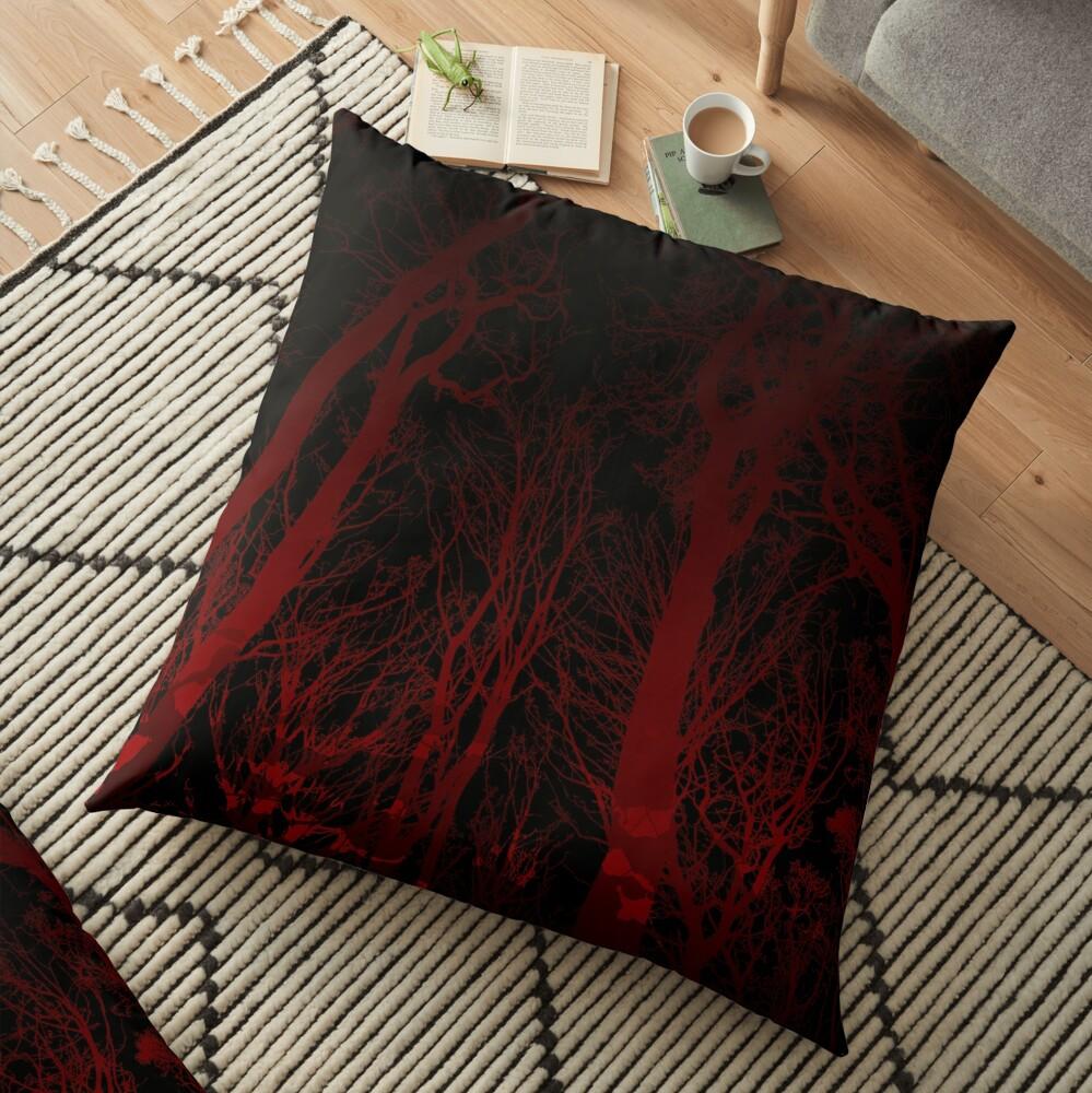 Night Veil Floor Pillow