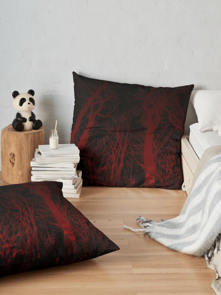 Alternate view of Night Veil Floor Pillow