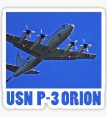 u.s. navy p3 orion t Sticker