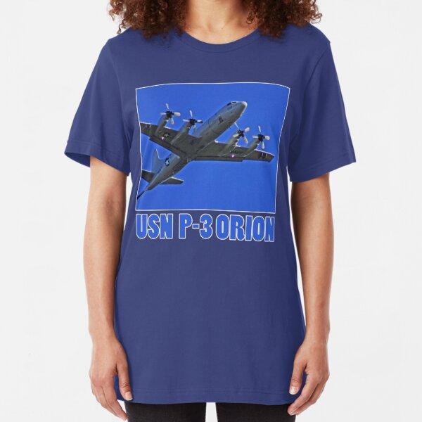 u.s. navy p3 orion t Slim Fit T-Shirt