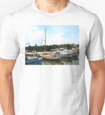 Line of Docked Boats T-Shirt