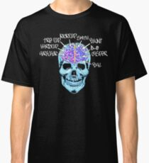 Skate On The Brain ~ Anachrotees Design Classic T-Shirt