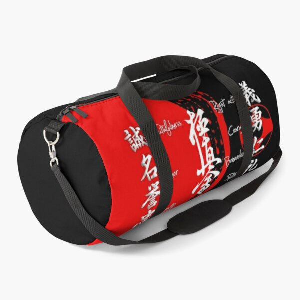Kyokushin Karate Bushido Values Duffle Bag