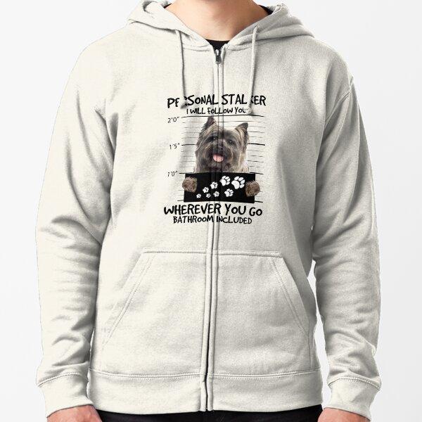 Cairn Terrier Zipped Hoodie