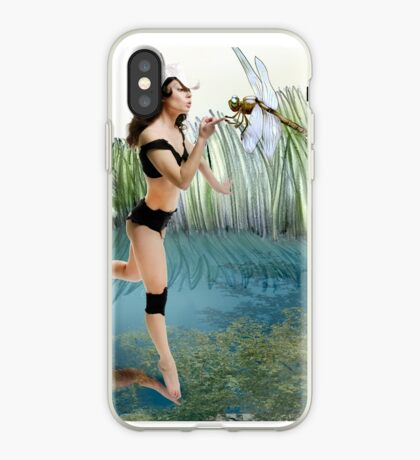 Fireflies on the Enchanted Lake - Arual iPhone Case
